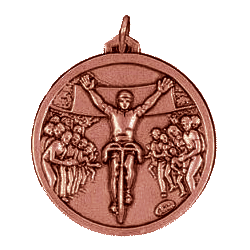 Bronze Cycling Medals