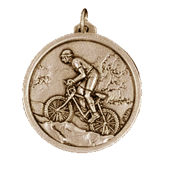 Gold Mountain Bike Medals