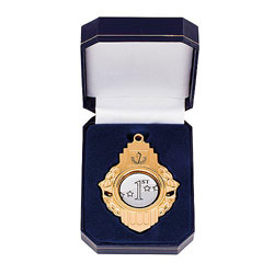 Vitoria Medal In Box Gold 90mm